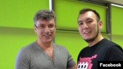 Борис Немцов и Булат Барантаев