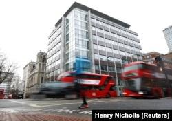 Лондонский офис Cambridge Analytica - после скандала с использованием собранных компанией данных она была вынуждена прекратить свое существование и закрылась в мае 2018 года