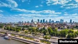 Варшава, пойтахти Полша