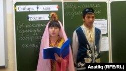 13-нче санлы мәктәптә татар теленнән ачык дәрес