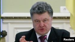 Украина президенті Петр Порошенко. Киев, 22 желтоқсан 2014 жыл.