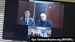 Эдем Бекиров мәхкәмәдә видеоэлемтә аша катнаша