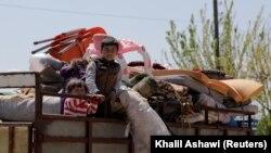 بیجا شده های سوریه