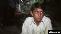 Naeem, 13, says he first sold himself to a man in a Peshawar park when he was 8 years old. He subsequently relied on prostitution to feed his heroin habit.
