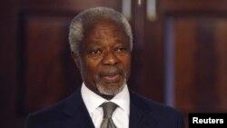 Міжнародний посланець з Сирії Кофі Аннан