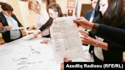 Noyabrın 1-də parlament seçkiləri keçirilib