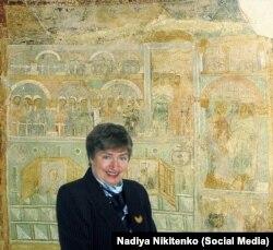 Професор Надія Нікітенко, історик-культуролог, провідний спеціаліст-дослідник Національного заповідника «Софія Київська»
