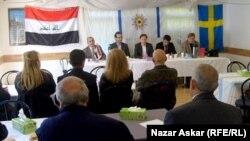 ناشطون عراقيون في السويد