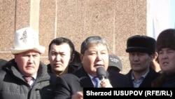 Оштун экс-мэри Мелис Мырзакматов ортодо. 15-январь, 2015-жыл