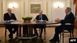 Ռուսաստանի - Եվրասիական բարձրագույն տնտեսական խորհրդում ընդգրկված Ռուսաստանի, Բելառուսի և Ղազախստանի նախագահների հանդիպումը, Նովո-Օգարյովո, 5-ը մարտի, 2014թ․