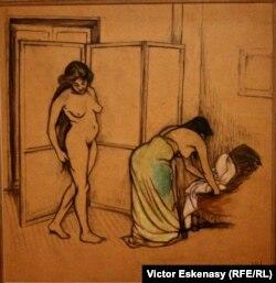 Suzanne Valadon, Femmes a leur toilette (1909)