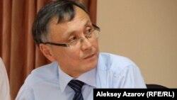 Саясаттанушы Қазбек Бейсебаев.