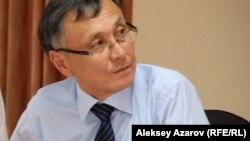 Политолог и блогер Казбек Бейсебаев.