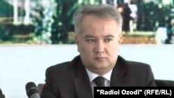 Насим Олимзода, глава Минздрава Таджикистана