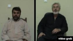 سید کمال (راست) و سید حسین