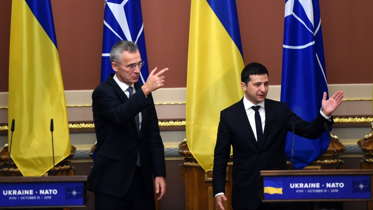 Зеленский поблагодарил НАТО за «признание весомого вклада Украины»