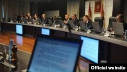 Podgorica, sjednica Vlade, novembar 2013.