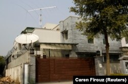 A view of the North Korean embassy in Islamabad