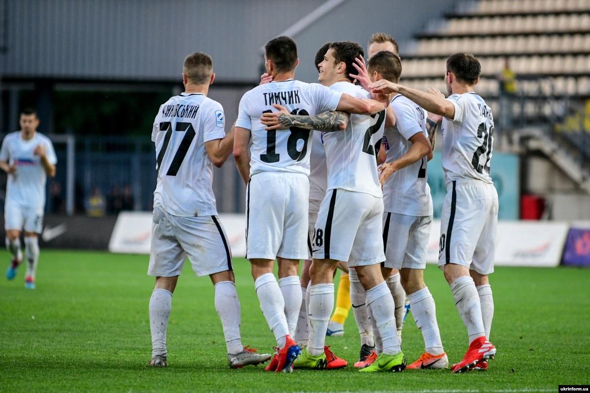 Лига Европы: «Заря» проведет ответный матч против черногорской «Будучности»