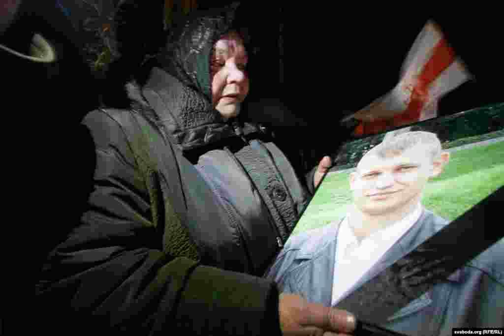 Похорони Михайла Жизневського у Гомельській області