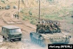 Азербайджанські солдати, 1992 рік