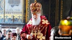 Патриарх Киевский и всей Руси-Украины Филарет, архивное фото