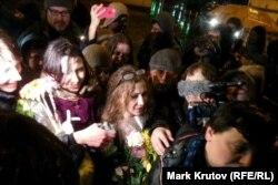Мария Алехина после приезда в Москву