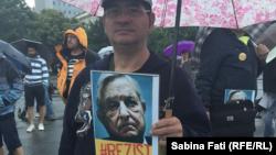 La demonstrația anti-PSD de la București, duminică 16 iulie