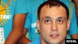 Тяжелоатлет Илья Ильин, олимпийский чемпион. Алматы, 6 августа 2012 года.