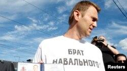 Рускиот опозиционер и анти-корупциски активист Алексеј Навални.
