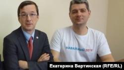 Вячеслав Иванец и Сергей Беспалов