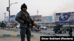 Afghan officials say at least 29 people were killed after militants stormed government offices in the eastern part of the capital Kabul, triggering an hours-long gun battle.