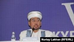 Новый верховный муфтий Казахстана Серикбай Ораз. Алматы, 8 декабря 2017 года.