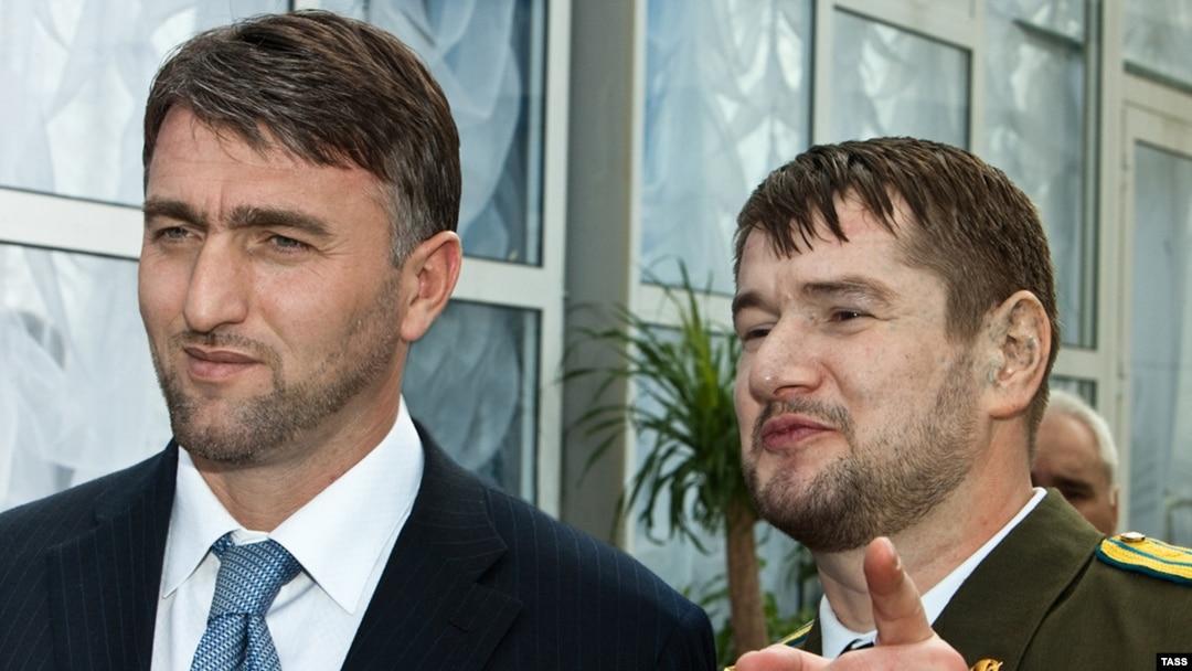 Адам Делимханов и Сулим Ямадаев