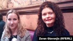 Ivana Milenović Popović i Dijana Milošević