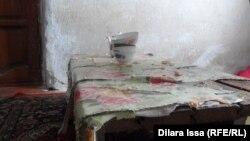 Кухонный стол малообеспеченной семьи в Шымкенте. 31 января 2016 года.