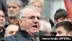 Воислав Шешель в Белграде. Март 2016 года