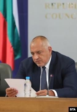 Bulgarian Prime Minister Boyko Borisov