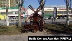 Окупований російськими гібридними силами Луганськ