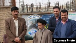 Siamak Soltani (left), CEO of Isfahan sugar plant, arrested for selling sugar on the open market.