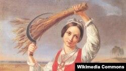 Канут Русецкі. Жнейка (1844)