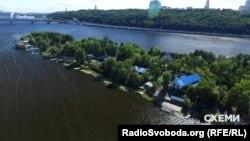 Труханів острів, Київ