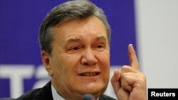 Виктор Янукович, пресс-конференция в Ростове-на-Дону, 28 ноября 2016 года.