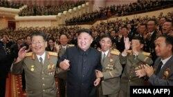 Северокорейский лидер Ким Чен Ын, сентябрь 2017