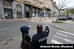 Наслідки землетрусу в Загребі