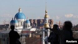 Pogled na Sankt Petersburg