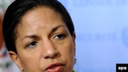 Susan Rice, the U.S. ambassador to the UN, said the door was still open to Iran to accept offers to resolve the crisis through dialogue.