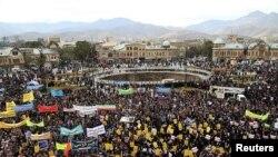 Тегерандагы демонстрация. 4-ноябрь, 2018-жыл.