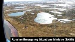 Разлив нефтепродуктов, Норильск