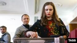 Иллюстрационное фото. Так называемые выборы в оккупированном Донецке, октябрь 2016 года